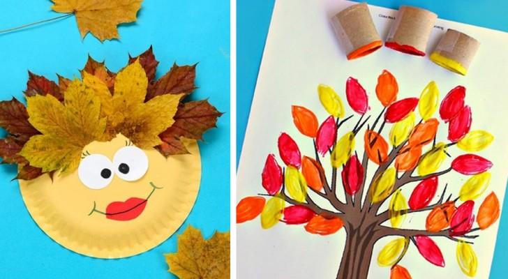 Tutti i colori dell'autunno: 21 lavoretti super-creativi da fare con i bambini