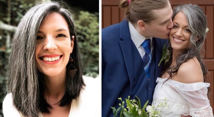 Quelques exemples de femmes qui ont décidé d'arrêter les teintures et qui montrent fièrement leurs cheveux blancs