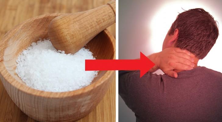 O sal quente: o eficaz remédio da vovó usado para melhorar as dores na cervical