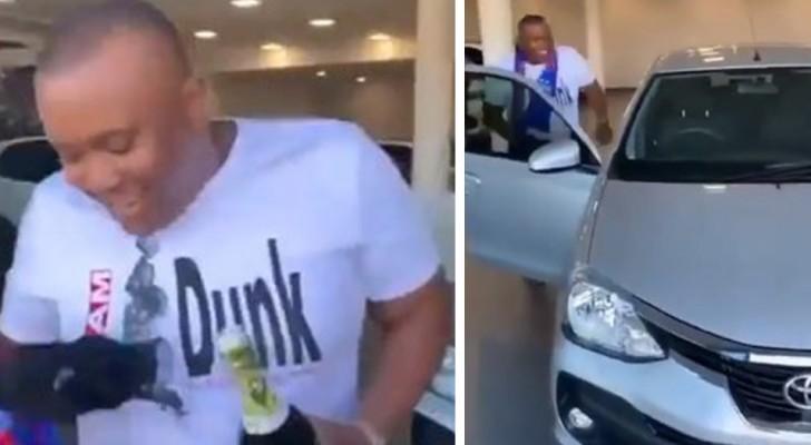 Diese Jungs beschließen, ihrem Freund ein Auto zu schenken, weil sie es satt haben, ihn nach Hause zu bringen