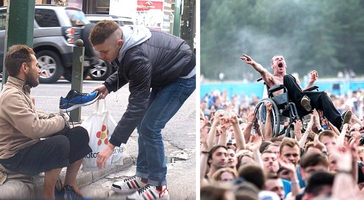 Diese 10 Fotos zeigen Akte der Zuneigung und des Altruismus, die das Vertrauen in die Menschheit wiederherstellen