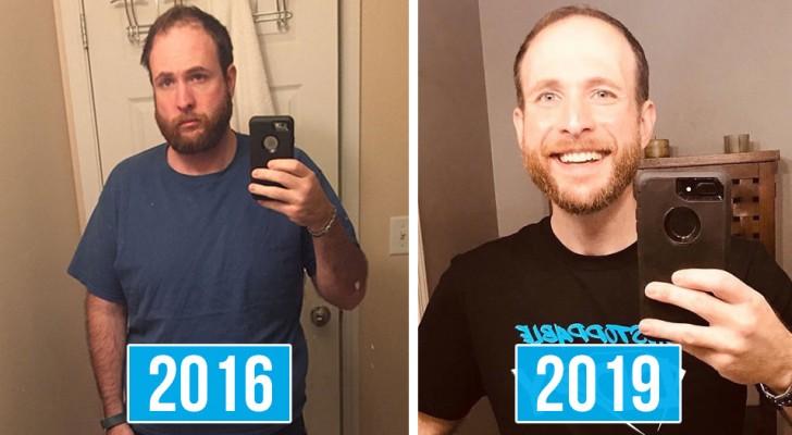 Deze jongen stopt met drinken en documenteert de daaropvolgende 3 jaar zijn radicale transformatie