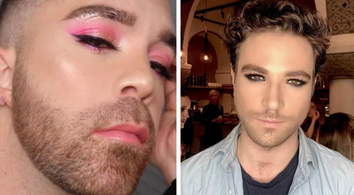 Arriva il make-up per gli uomini: il nuovo trend cerca di promuovere l'uguaglianza di genere