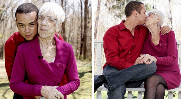 He is 31 years old, she is 91 and this English couple shows everyone that true love has no age