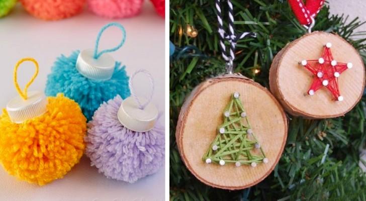 Lavoretti Natale.Lavoretti Di Natale Con Gli Scampoli Di Lana 15 Idee Creative All Insegna Del Riciclo Creativo Media