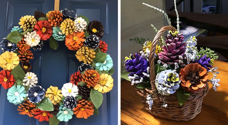 Dipingere le pigne: 14 idee fantastiche per creare piccole opere d'arte con questi elementi naturali