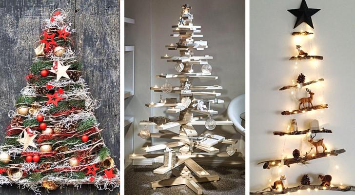 16 idee belle e stravaganti per creare un albero di Natale davvero unico