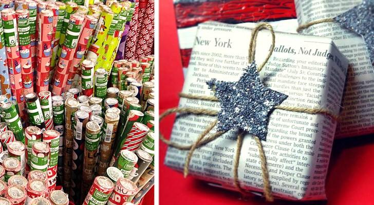 Geschenke in Zeitungen verpacken: eine nützliche Geste für ein nachhaltiges Weihnachtsfest