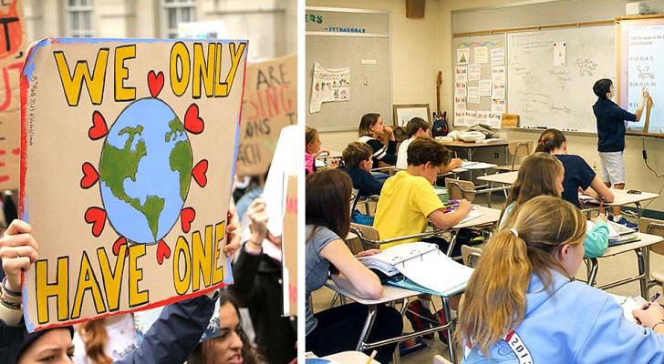 L'Italia potrebbe introdurre i cambiamenti climatici come materia di studio nelle scuole