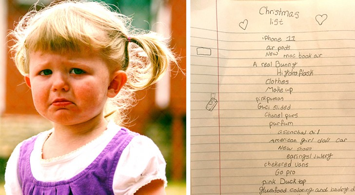 iPhone 11, PC, a real rabbit, and 4000 dollars is only part of a ten-year-old girl's hilarious Christmas wish list
