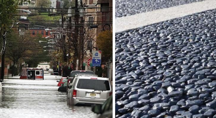 Questo asfalto è capace di assorbire migliaia di litri di acqua in un minuto: una soluzione alle inondazioni urbane