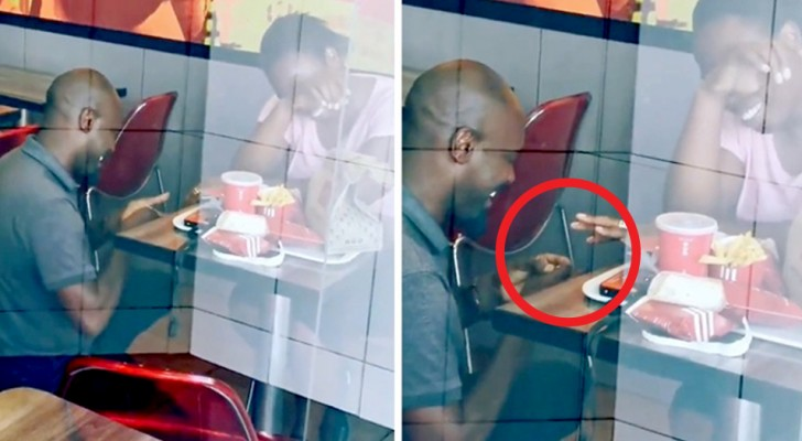 Hij doet een aanzoek in een fastfoodrestaurant, maar wordt vernederd op internet: een aantal bedrijven besluiten de bruiloft te betalen