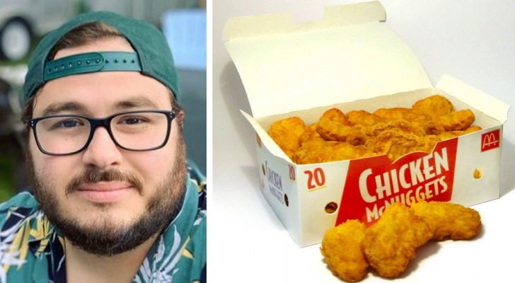 Een held van onze tijd: een voormalige McDonald-medewerker deed altijd 1 extra kipnugget in elk doosje