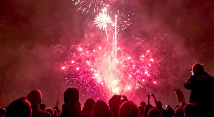 Italia: nel paese di Collecchio vengono usati fuochi d'artificio a rumore ridotto per gli animali a rischio shock