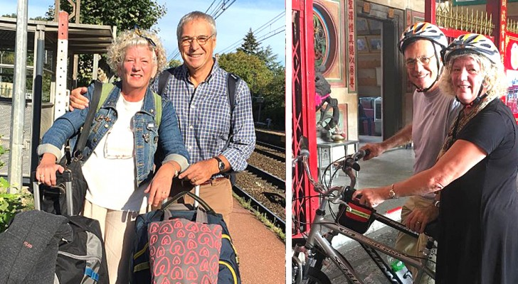 Venden todo y parten para girar por el mundo: estos cónyuges jubilados realizan el sueño de una vida