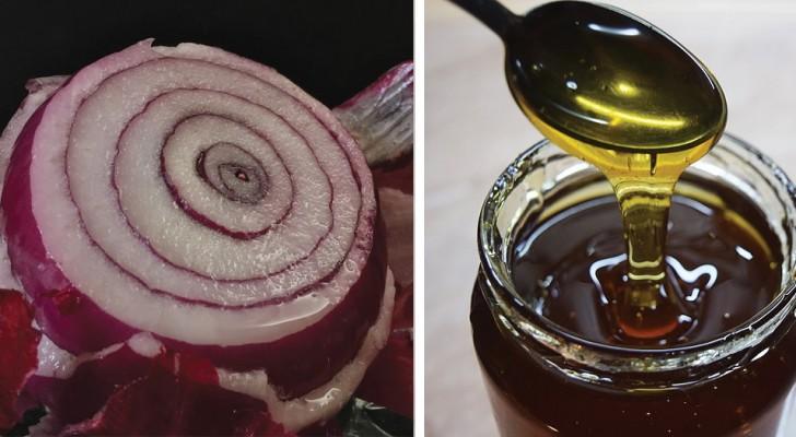 Honing- en uiensiroop: een effectieve remedie tegen hoest