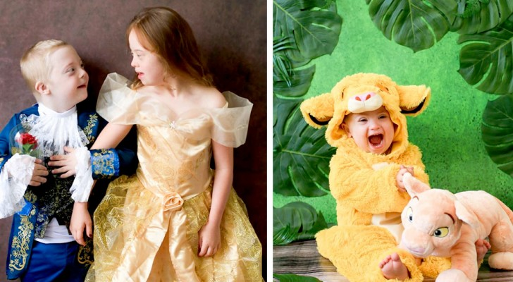 Deze fotograaf viert de schoonheid van kinderen met Down in een reeks foto's geïnspireerd op Disney-sprookjes