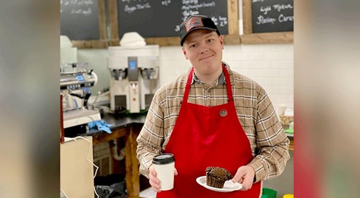 Questo ragazzo autistico decide di aprire un bar da solo dopo che nessuno lo ha voluto assumere