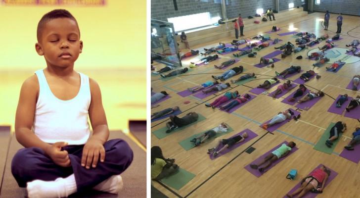 Un'alternativa alle punizioni a scuola: un programma di meditazione per aiutare i bambini a gestire lo stress