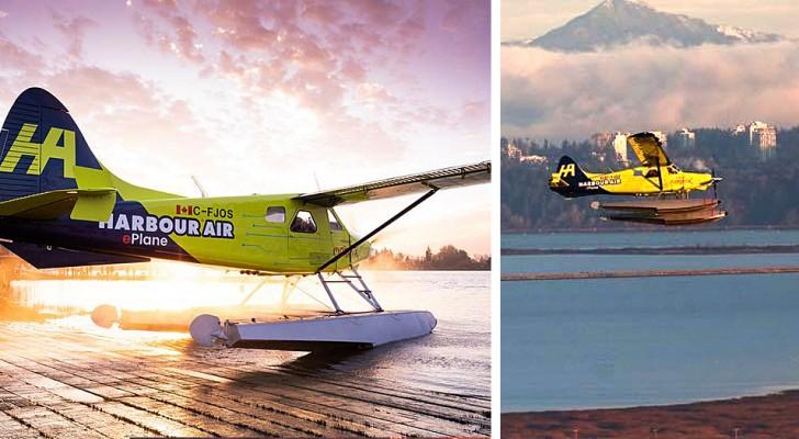 Il primo aereo civile completamente elettrico si è alzato in volo in Canada: una svolta nella mobilità green