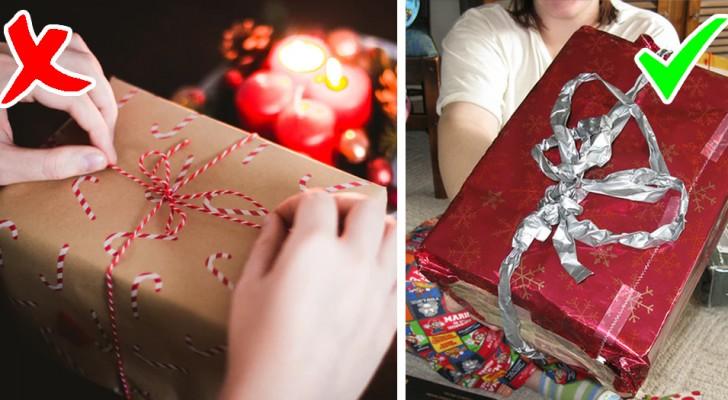 Ein schlecht verpacktes Geschenk macht die Menschen glücklicher: Eine Studie belegt dies