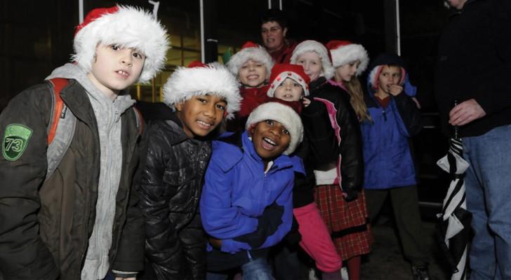 Nel mese di dicembre questa scuola ha assegnato agli alunni atti di gentilezza al posto dei compiti a casa