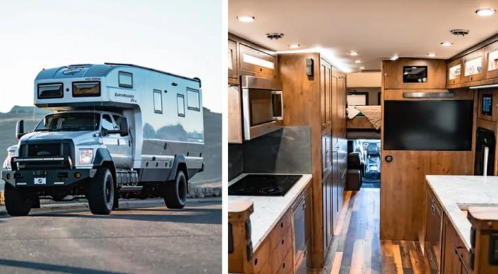 Dieses Wohnmobil ist ideal für diejenigen, die zu jeder Jahreszeit die Welt erkunden wollen, ohne auf ihren eigenen Platz verzichten zu müssen
