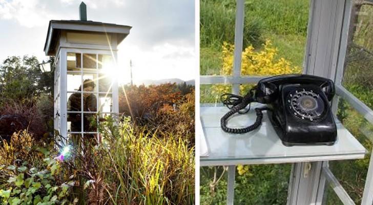 """De telefoon van de wind: de Japanse telefooncel waar rouw wordt verwerkt door met de doden te """"praten"""""""