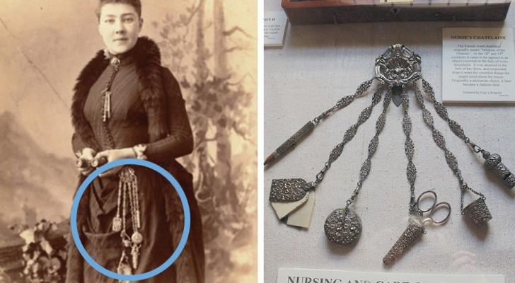 La chatelaine: l'oggetto che le donne di casa dell'800 erano solite portare sempre appeso in vita