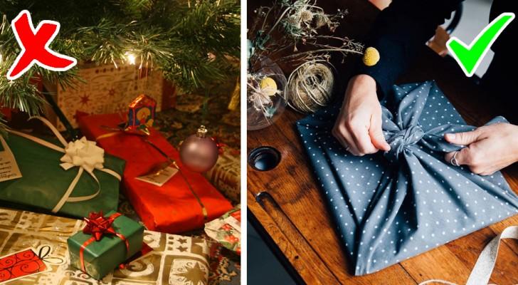 Furoshiki: die altjapanische Methode, Geschenke in farbenfrohe Stoffe zu verpacken, um unnötige Papierverschwendung zu vermeiden