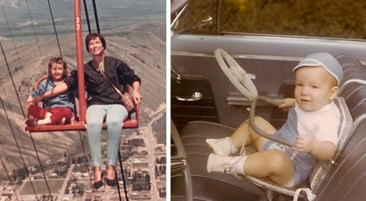 15 foto di bambini che erano normalissime negli anni '60 e che oggi sarebbero considerate inaccettabili