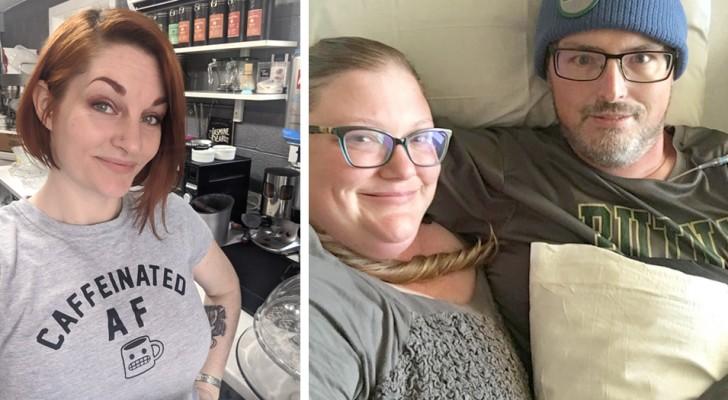 Esta mulher fechou a sua cafeteria para dar uma mão para o seu concorrente que estava com uma doença terminal