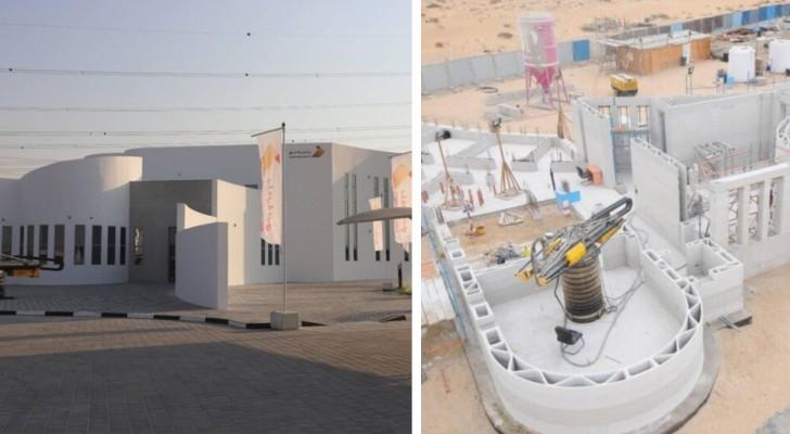 Una delle più grandi costruzioni stampate in 3D apre le porte a Dubai, dopo sole 2 settimane di lavoro