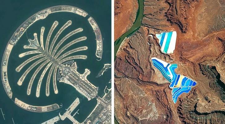 12 vues satellites qui montrent de façon claire et impressionnante l'impact de l'homme sur la planète Terre