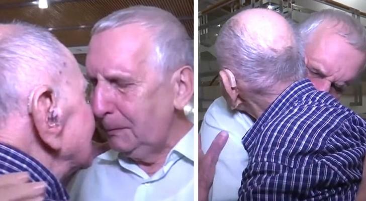 Il pensait avoir perdu toute sa famille pendant l'Holocauste, mais à 102 ans, cet homme réussit à retrouver son neveu