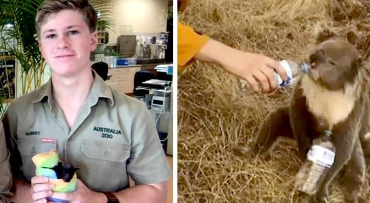 De familie van Steve Irwin opent de deuren van zijn dierentuin om dieren te redden van de branden in Australië