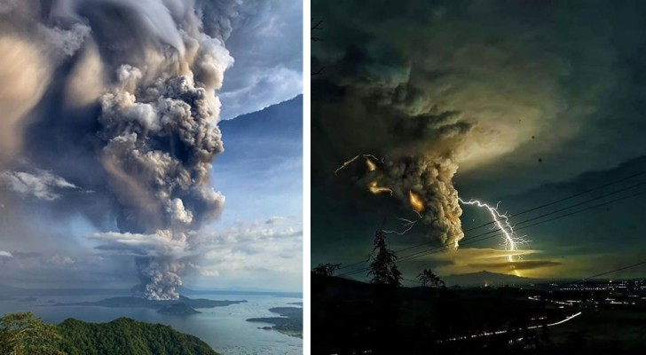 L'éruption du volcan Taal aux Philippines : ces impressionnantes images montrent toute sa puissance dévastatrice