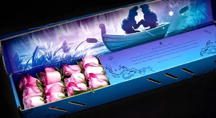 Cette société a créé d'élégants bouquets de roses inspirés par les histoires et les couleurs des films de Disney