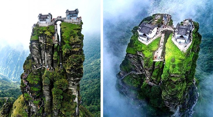 Deze twee boeddhistische tempels hangend tussen aarde en hemel zijn de perfecte plek om jezelf te vinden