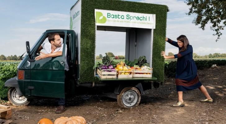 Una coppia crea una startup per recuperare la verdura