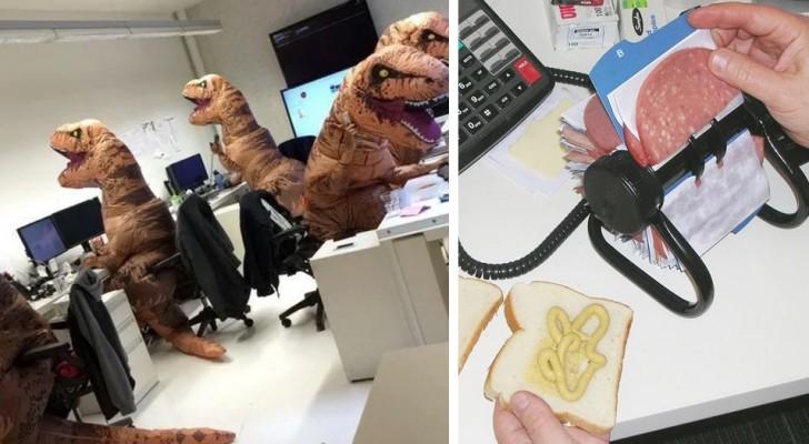 Queste 17 foto dimostrano che con i colleghi giusti anche al lavoro non ci si annoia mai