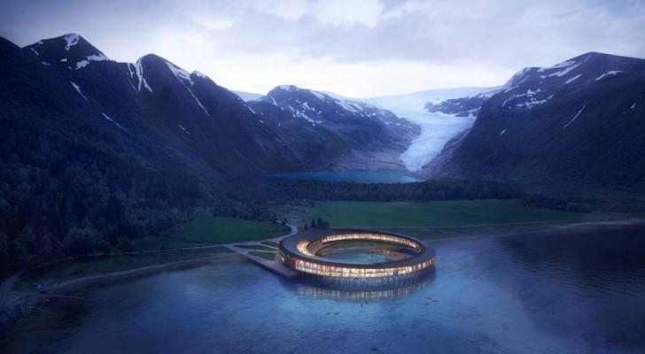 Svart: het zeer energiezuinige hotel aan de voet van een Noorse gletsjer