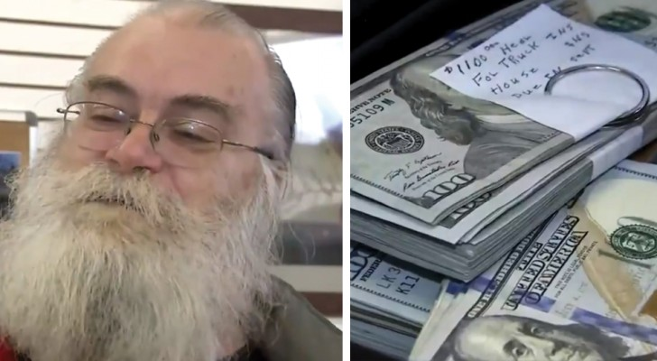 This man bought a used sofa and found $43,000 inside and returned all the money to the owner