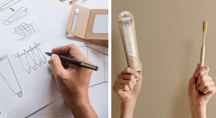 Ce designer a créé un tube de dentifrice biodégradable sans utiliser de papier ni de plastique