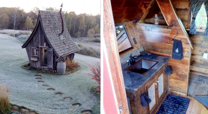 In Usa esistono delle piccolissime abitazioni in legno che sembrano uscite da una fiaba gotica