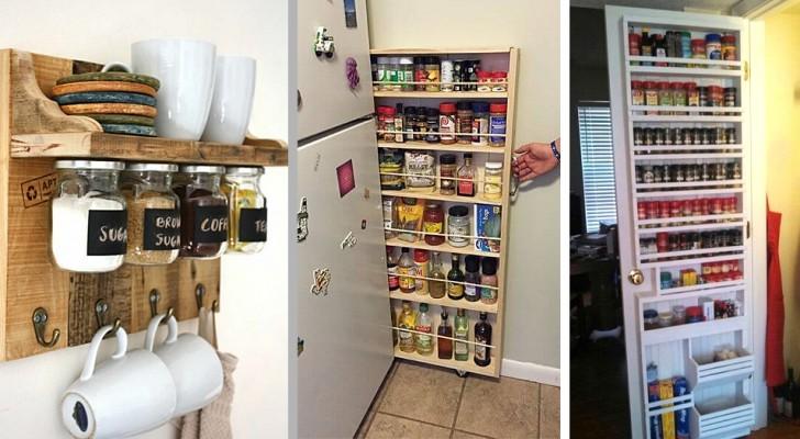 25 idee brillanti per creare spazio extra in qualsiasi angolo di casa