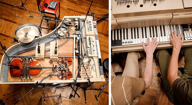 Questi ragazzi hanno creato uno speciale pianoforte