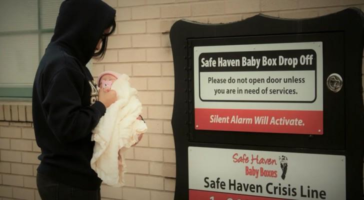 Nasce a Baby Box: um lugar seguro para salvar a vida de um recém-nascido abandonado