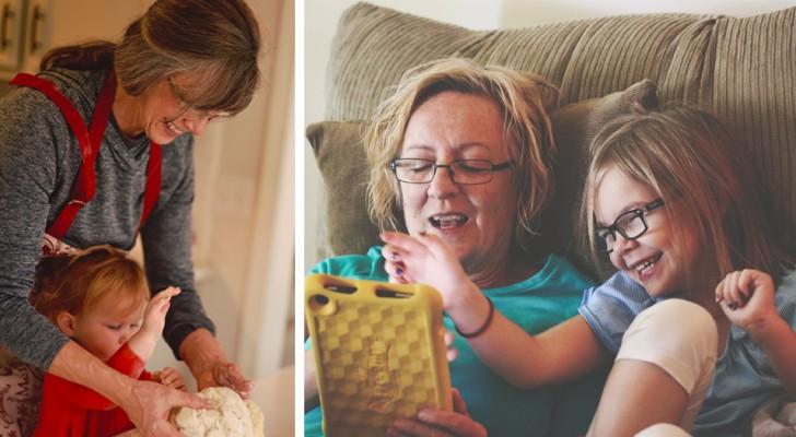 Gli insegnamenti delle nonne ci aiutano a vivere meglio: il legame che si crea con loro è unico e speciale