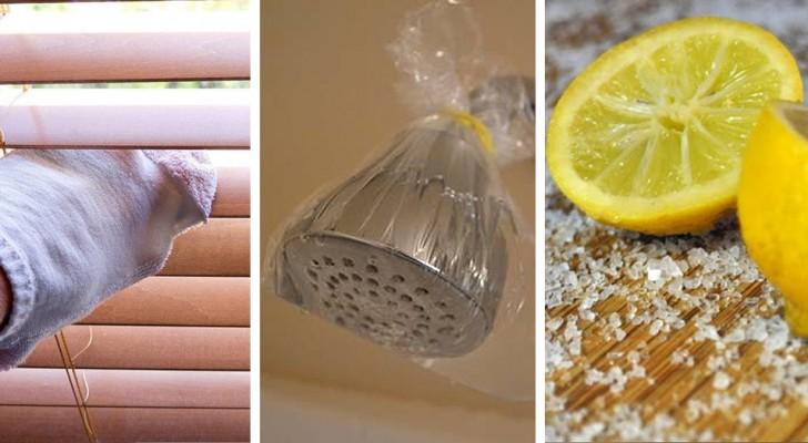 15 trovate geniali per rendere le pulizie di casa più difficili un gioco da ragazzi